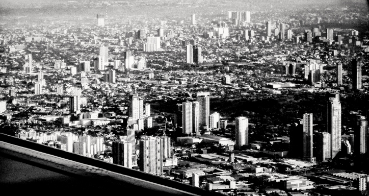 Manila from air